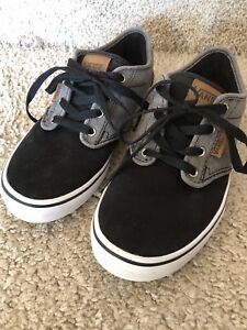 Boys vans size 5 in excellent condition used only once.