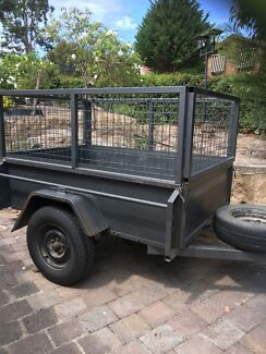 Cheap 6*4 trailer for hire $20