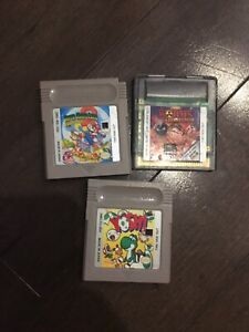 3 gameboy games and a 4 player adaptor. Game boy