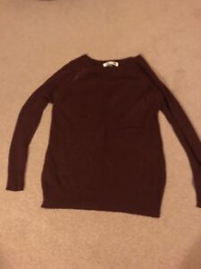 Maroon nursing sweater