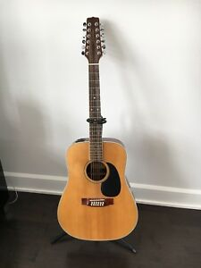 Jasmine (by Takamine) 12-string acoustic guitar with pickups