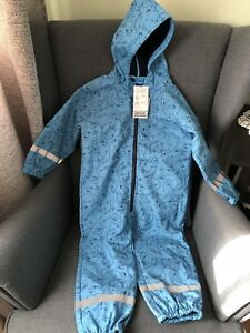 One piece rain suit for kid