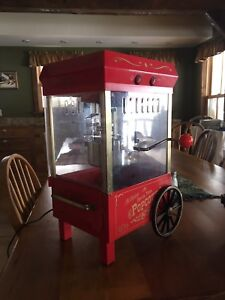 Old fashioned electric popcorn popper!