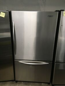 2.5 year old KitchenAid stainless steel counter depth fridge