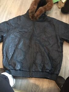 G-unit Gino Green Global men's leather jacket