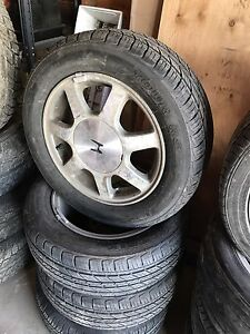 Honda Civic rims & tires