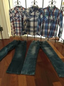 Buffalo jeans and shirts