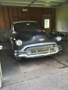 1951 buick special fire ball straight 8 3 speed manual