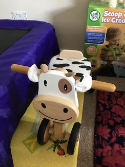Cow toddler kid tricycle