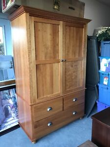 Beautiful Solid Cherry Cabinet/Media Storage