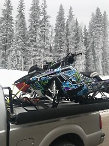 2016 Axis 155, 2013 pro RMK 163 turbo & Sled Deck