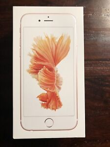 iPhone 6S - 32gb - unlocked - AppleCare - Box - Charger, cable