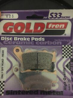GoldFren S33 023 Disc brake pads Racing rear.