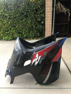 Hyosung GT250R front fairings.