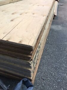 Spruce Plywood 5/8 and 3/4 t&g