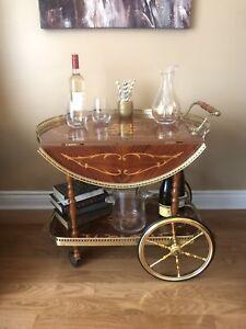 Vintage Bar Cart
