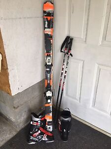 Brand new ski equipment