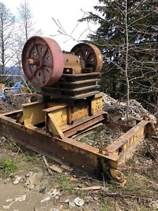 Allis Chalmers 24 x 10 jaw crusher for sale