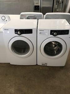 Samsung front load washer dryer set 1.5 years old