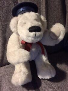 Vintage teddy bear. Nova Scotia hand made Polar the Titanic Bear