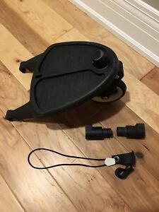Bugaboo cameleon frog  stroller wheeled board with adapters