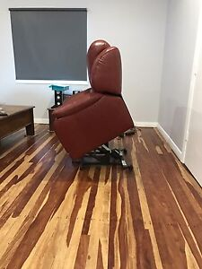 2 x Leather electric lift recliners Ayr Burdekin Area Preview