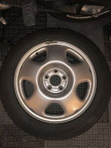4 Michelin X-Ice 17 inch Winter Tires and Rims for Honda Accord
