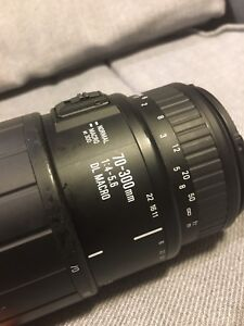 Sigma for canon 70-300mm