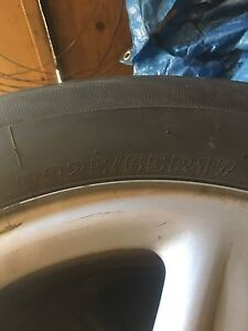 Tires 225/60/17 & 225 65 17