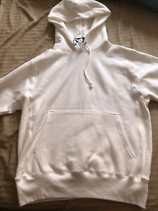 White Champion hoodie - Size small