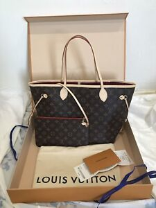 Louis Vuitton Neverfull MM -Red Interior *new*