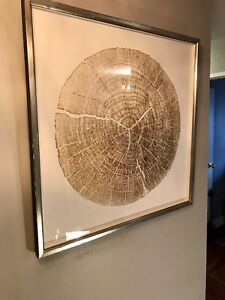 Contemporary Art - Gold glided wood cuts