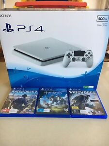Glacier White Slim PS4 500GB Wakerley Brisbane South East Preview
