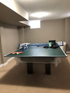 SOLD Pool table & ping pong table topper REDUCED 2 cvr ship