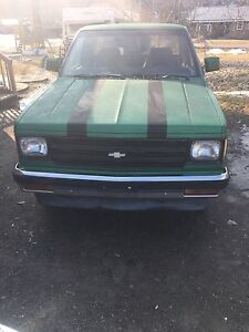 "1985 s10 350 3"" exhaust 20"" rims. 3000 orb consider trades"