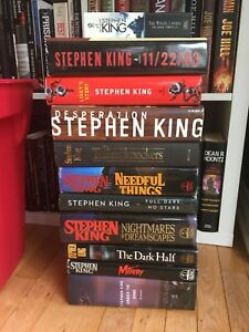 Stephen king books $30 obo