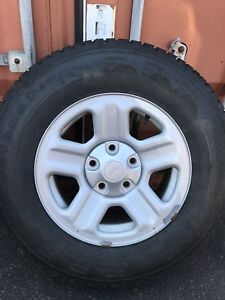 Firestone Winterforce on Jeep wheels