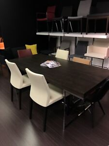 Modern Table and Dining Wood Chairs for Sale!