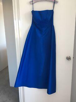 Blue Evening / Formal Dress -Size 10-12