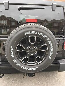 For sale rims and tires Jeep Wrangler