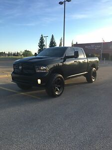 Lifted 2013 DODGE RAM 1500 Sport Fully Loaded