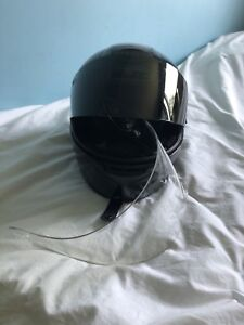 HJC CS-R1 motorcycle helmet (small) with change of lens