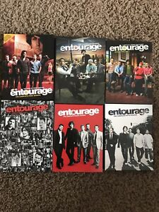 Entourage dvds seasons 1-5