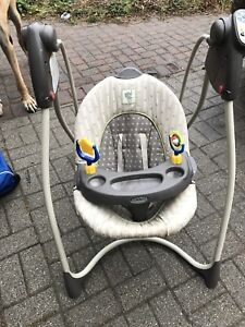 Swing and booster seat