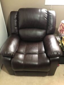 Recliner (single seat sofa) for sale - almost new