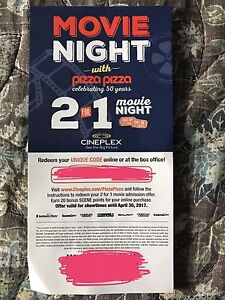 2 for 1 cineplex coupon