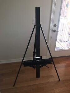 Foldable Telescopic Portable Floor Easel Drawing Display