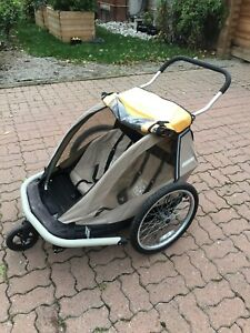 Croozer 535 - Double kid 3-in-1 chariot, bike trailer, stroller