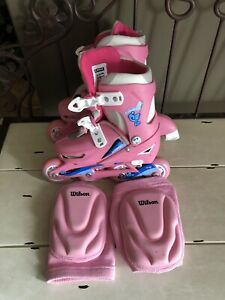 Airwalk Roller Blades Girls Size 12-2