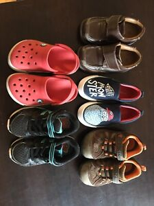 Boys Shoe Lot, Size 8T